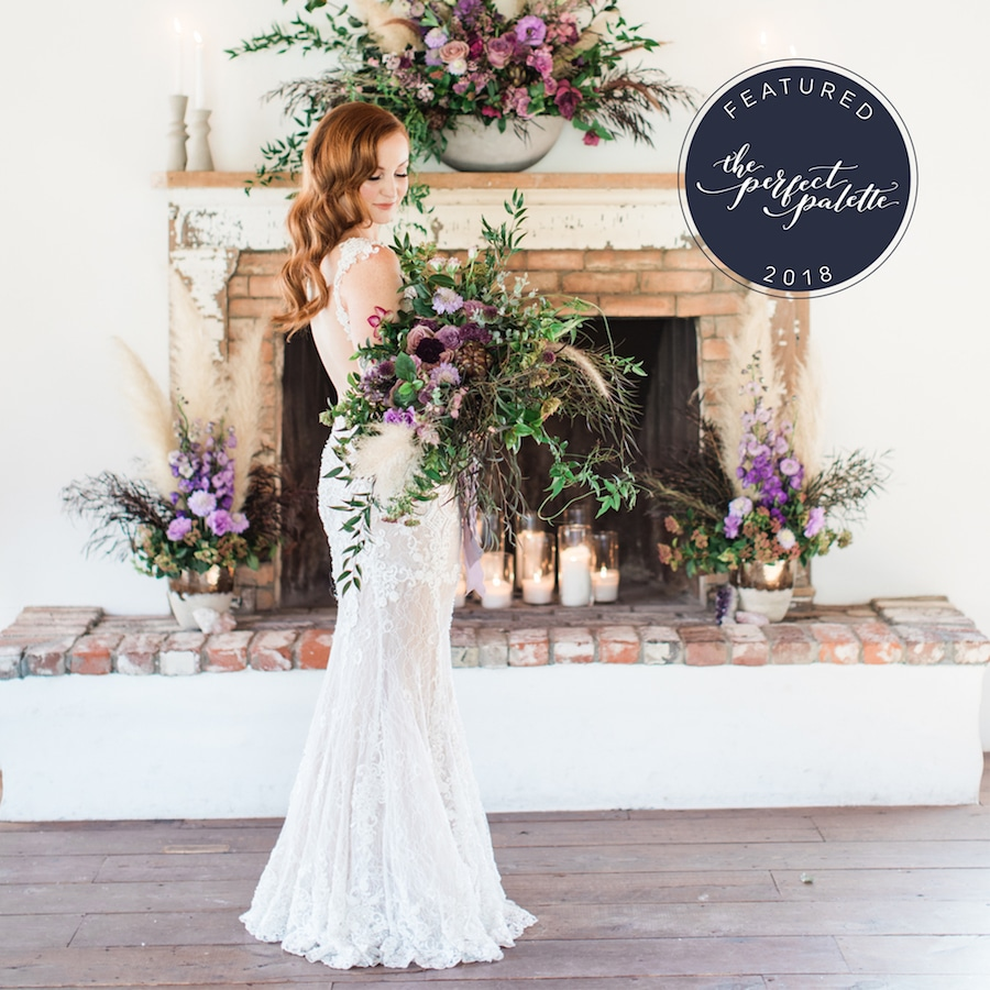 Winery Wedding Style Featured on The Perfect Palette1