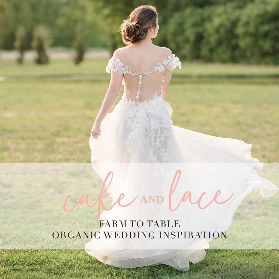 Intimate Countryside Wedding Inspiration Featured on Cake & Lace