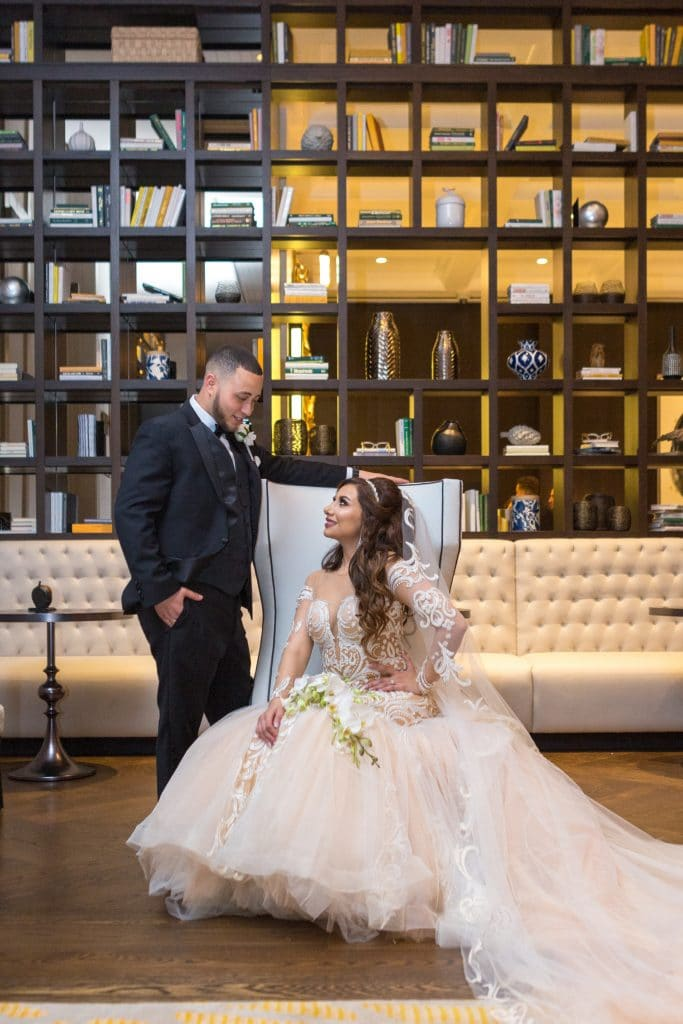 Fady and Gina glamorously tied the knot