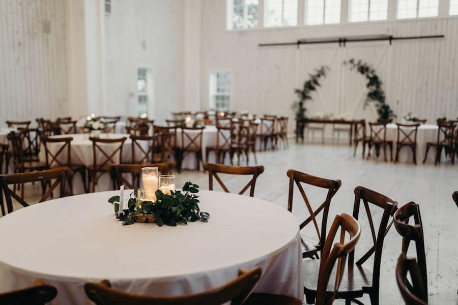 Holly and Zach tied the knot at The White Sparrow in Quinlan, Texas