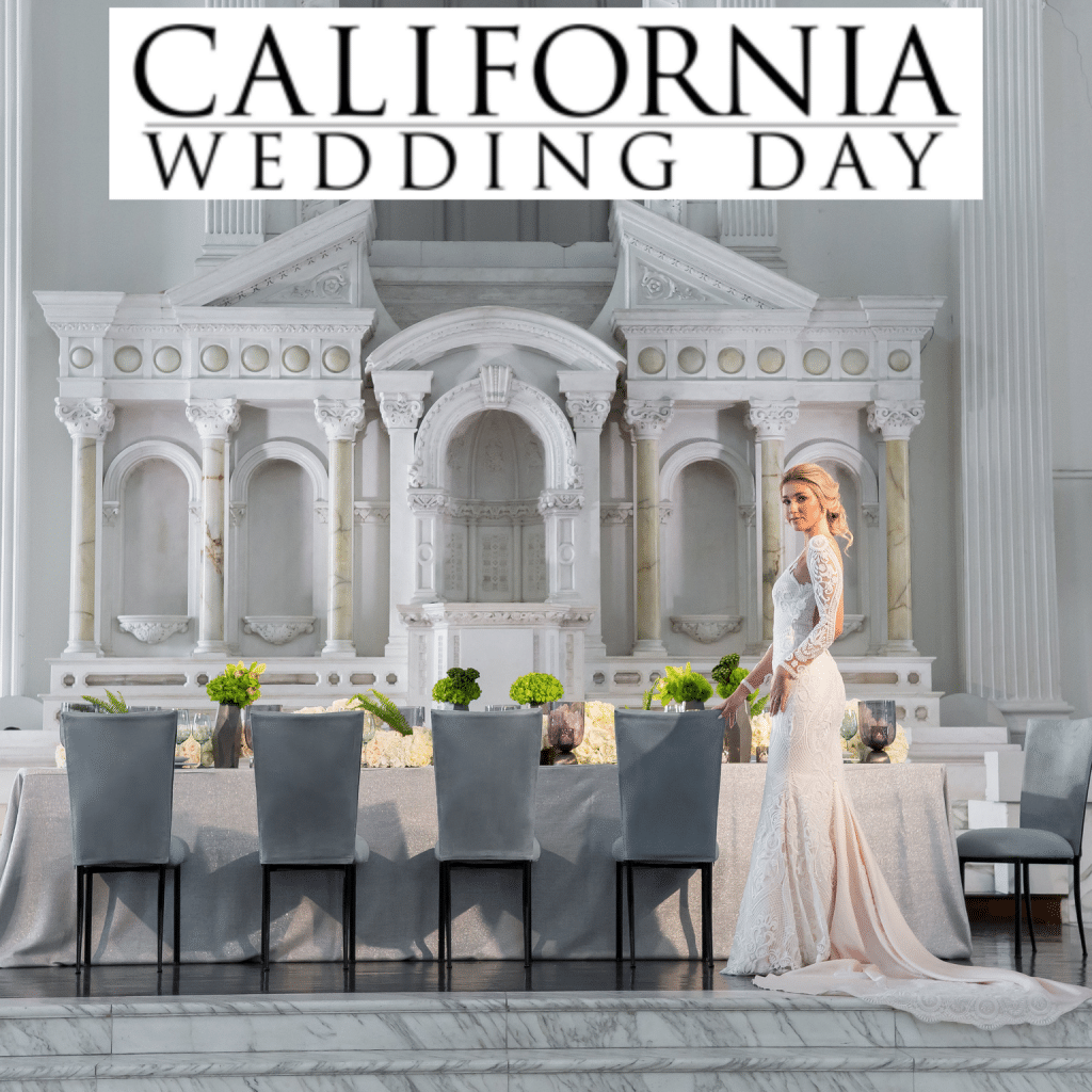 california wedding day, modern wedding inspiration, modern styled shoot, Naama & Anat Bridal, Naama & Anat Haute Couture, Vibiana, The Butterend, Elwynn Cass, Maya Myers Photography, Chameleon Chair Collection, The Lighterside, Bluecat, International Event Company