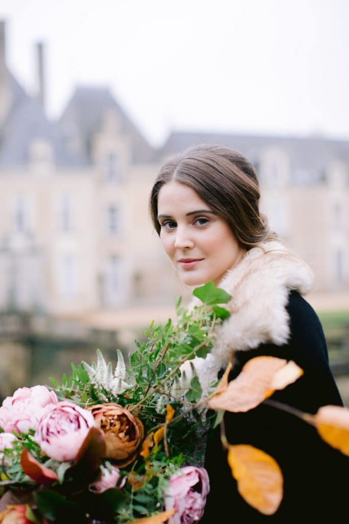 Naama and Anat, Naama and Anat Haute Couture, French Chateau, Chateau de Jalesnes, Jenny Quicksall Photography, styled shoot, wedding inspiration, couture wedding dress, luxury wedding dress, wedding gown