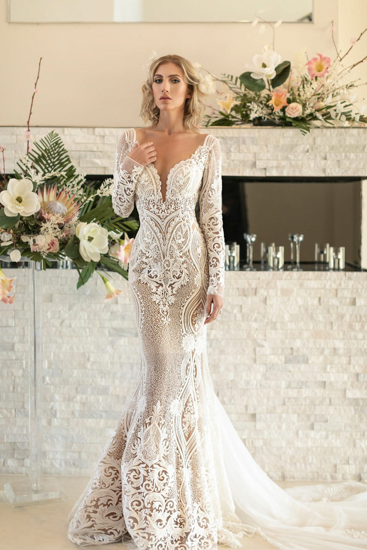ca9b69c6ef2 Naama and Anat present their 2018 collection of exquisite bridal gowns